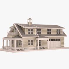 Cottage 05 3D Model