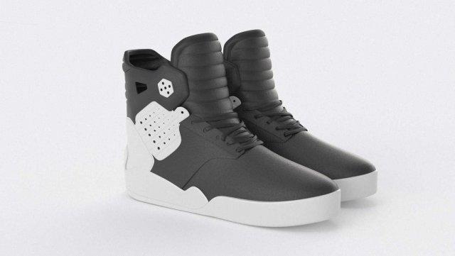 Supra Skytop 4 Shoes 3D Model