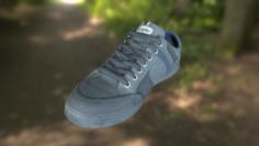 Sneaker shoe low poly 3D Model