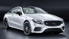 Mercedes-Benz E400 Coupe 2018 3D Model