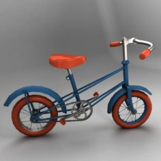 Soviet childrens bicycle Butterfly 3D Model