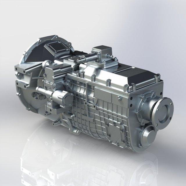 KAMAZ Transmission 152 3D Model