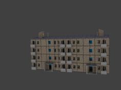 1960s Building 3D Model