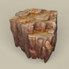 Game Ready Stone Rock 11 3D Model
