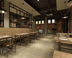 Business – Food Beverage 7-057 3D Model