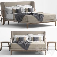 Bed giorgetti pegaso                                      3D Model