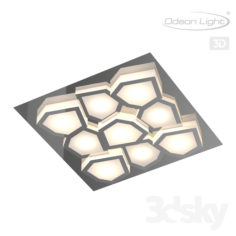 Chandelier for ceiling ODEON LIGHT 4057 / 36CL ARTICO                                      Free 3D Model