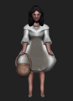 Dorothy Free 3D Model