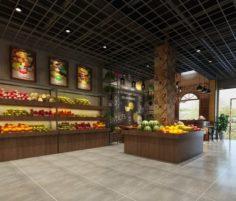 Business – Shop – Fruit Shop – 9434 3D Model