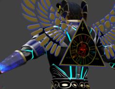 Amon-RA 3D Model