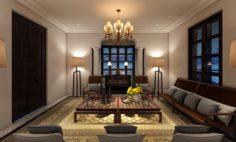 PDP Livingroom 3D Model