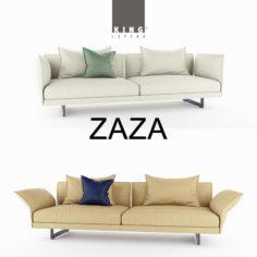 Zaza sofas1 3D Model