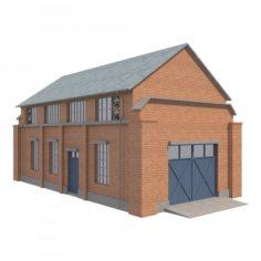 Warehouse 4 3D Model