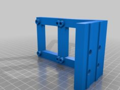 AM8 Duel Mosfets Mount (Or other 2040 Extrusion Frame 3D printers) 3D Print Model