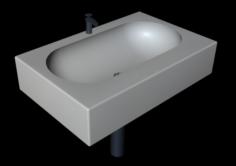 Simple Sink 3D Model
