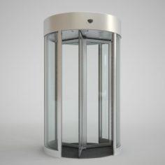 Revolving Door 150cm 3D Model