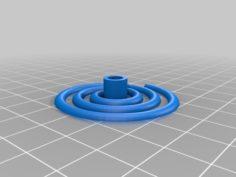 Spiral Stepper Motor Ornament 3D Print Model