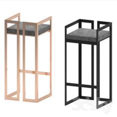randolph bar stool                                      Free 3D Model