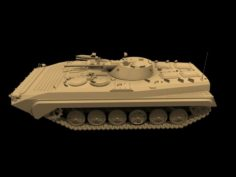 Russian Armored Vehicle BMP-F1 3D Model
