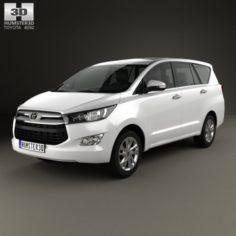 Toyota Innova G 2016 3D Model