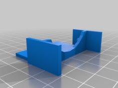 Wanhao/Monoprice i3 Mini Fan Shroud (Mk 2) 3D Print Model