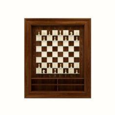 Wall chessboard 3D Model