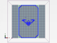 Rococo facadenull 3D Model