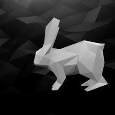 3D Printable Rabbit model 3D Model