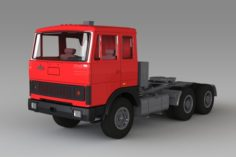 MAZ-6422 3D Model