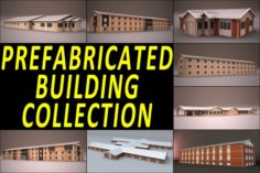 PREFABRICATED BUILDING COLLECTION 3D Model