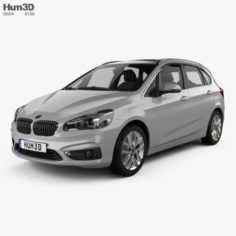 BMW 2 Series F45 Active Tourer Electrical 2016 3D Model