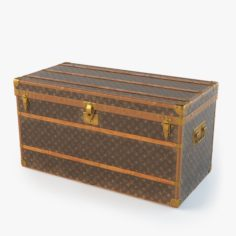 Louis Vuitton Trunk 3D Model