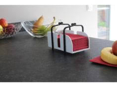 1/8 Napkin holder 3D Print Model