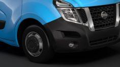 Nissan NV 400 L4H3 MiniBus 2018 3D Model