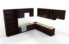 CGD Furniture VOL 7 -Kitchen- 3D Model