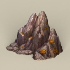 Game Ready Stone Rock 04 3D Model