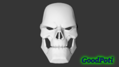 Mask of Taskmaster from the game Marvel ontest Of Champions 3D Model