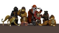 TF2 Big Cats 3D Model