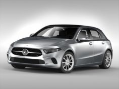 Mercedes Benz A Class 2019 3D Model