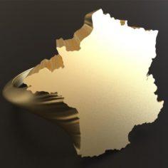 France ring 3D Model