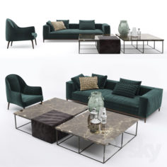 Vittoria Frigerio set                                      3D Model