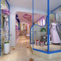 Fashion – Women Clothing Store 394 3D Model
