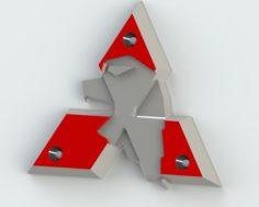 Mitsubishi 3D Model