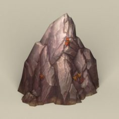 Game Ready Stone Rock 03 3D Model