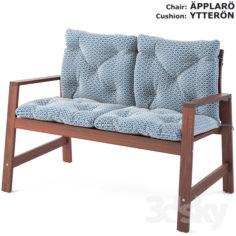 APPLARO and YTERRON chair set                                      3D Model