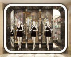 Fashion – Women Clothing Store 326 3D Model