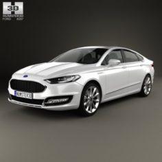 Ford Mondeo Fusion Vignale 2015 3D Model