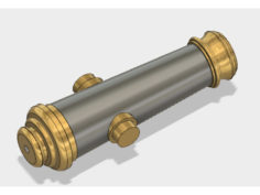 Cannon Bar Tap V2 3D Print Model