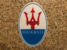Maserati Logo Sign 3D Print Model