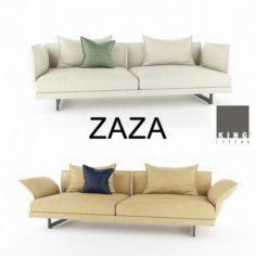 Zaza sofas Deep1 3D Model